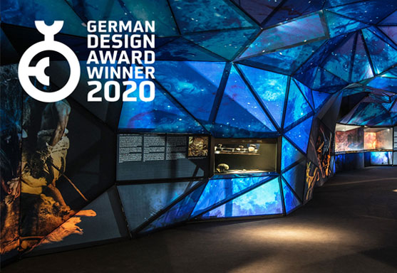 CAVE EXHIBITION: GERMAN DESING AWARD 2020