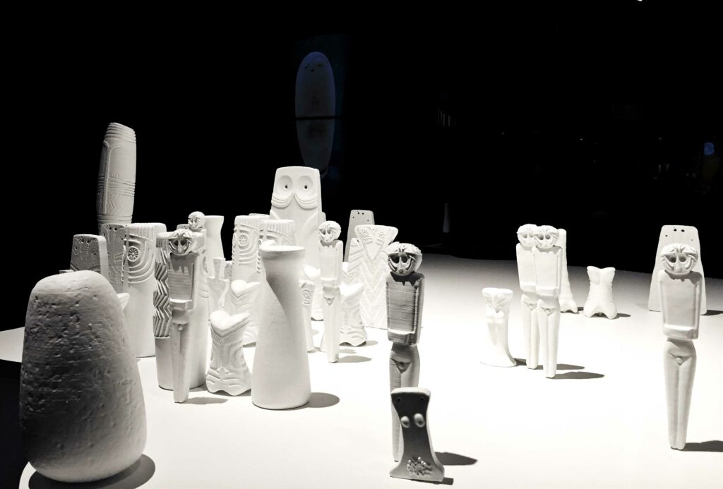 Idols exhibition inauguration at MARQ Alicante