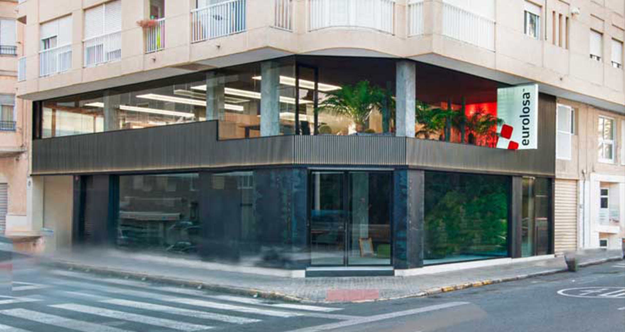 New offices Eurolosa Elche, design and renovation of new space, by Rocamora Diseño y Arquitectura, Elche, Alicante, Spain
