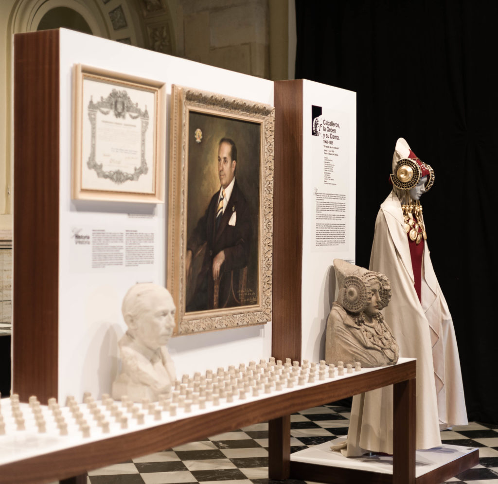 New exhibition design for the Royal Order of the Lady